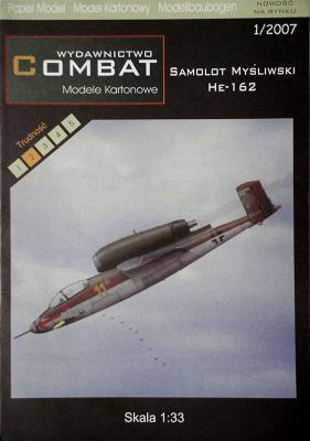 1\07    *   Samolot Mysliwski He-162 (1:33)    *   COMBAT