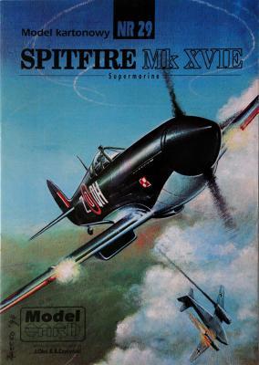 29    *   Spitfire Mk XVIE 1:33   *   Mod Card