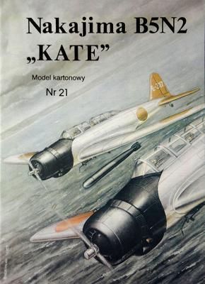 "21   *   Nakajima B5N2 ""Kate"" 1:33   *    Mod Card"