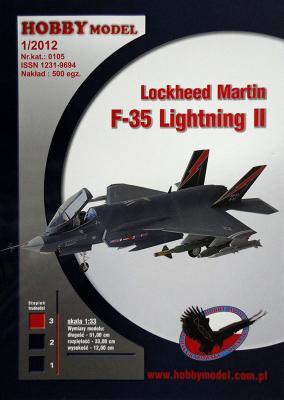 Hob\M-105   *   Lockheed Martin F-35 Lightning II (1:33)
