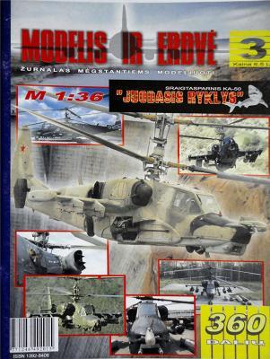 "Sraigtasparnis KA-50 ""Juodasis ryklys"" (1:36)    *   Mod I Erd"