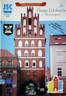 210    *   Brama Lidzbarska w Bartoszycach (1:200)   *   JSC