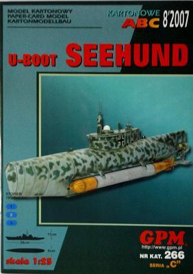 GP-229    *   8\07\266    *    U-Boot Seehund (1:25)