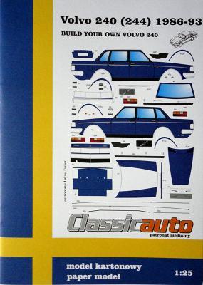 Volvo 240 (244) 1986-93 (1:25)    *   NIKE