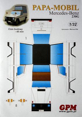 Mercedes-Benz 230G (1:32)    *   GPM