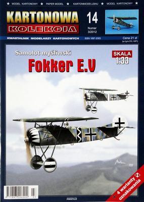 14    *   3\12    *    Samolot Mysliwski Fokker E.U (1:33)    *   KART KOL