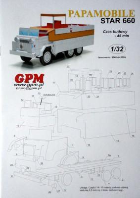 Papamobile Star 660 (1:32)   *   GPM