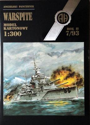 019    *  7\93   *   Warspite (1:300)    *  HAL