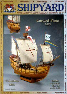 037   *  Caravel Pinta 1492 (1:96)   *   SHIP