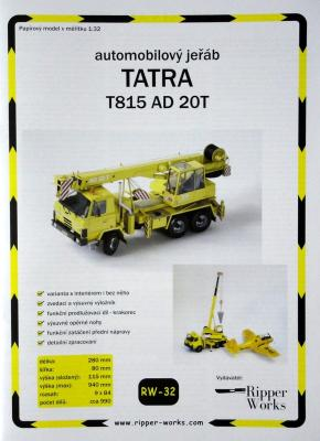 032   *  Tatra T815 AD 20T   *  RW