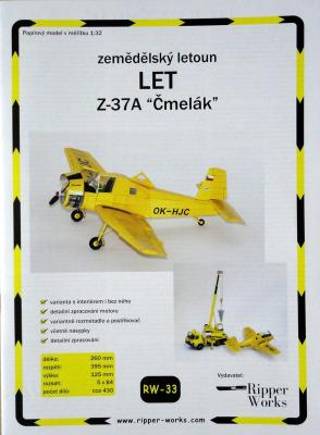 "033   *   LET Z-37A ""Cmelak"" 1:32   *   RW"