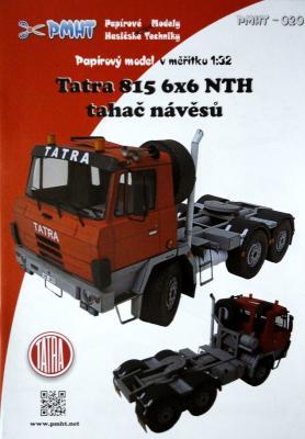 020   *   Tatra 815 6x6 NTH tahac navesu (1:32)   *  PMHT
