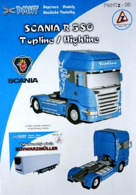 06z   *  Scania R 580 Topline/Highline(1:53)   *  PMHT