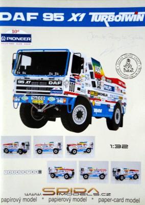 026   *  DAF 95 X1 Turbotwin 1:32   *   SPIDA-DAKAR   600
