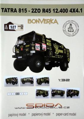 025   *   Bonverka Tatra 815-2ZO R45 12.400 4x4.1(1:32)   *  SPIDA-DAKAR  527