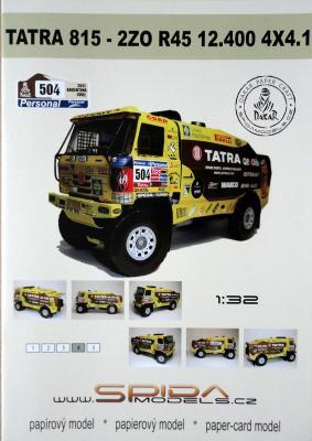 024   *   Tatra 815-2ZO R45 12.400 4x4.1(1:32)   *  SPIDA-DAKAR   504