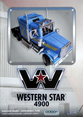 004    *   Western star 4900 (1:32)    *   Z-ART