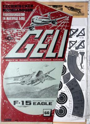 060   *   F-15 Eagle 1:33    *   GELI