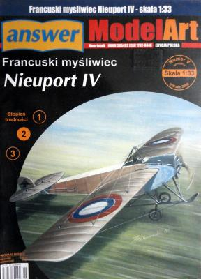 017   *   Vsp.\06   *   Francuski mysliwiec Nieuport IV (1:33)   *  Answ M-Art