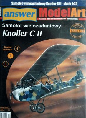 014   *  IIsp.\06   *   Samolot wielozadaniowy Knoller C II (1:33)    *   Answ M-Art