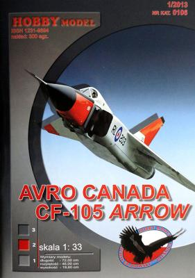Hob\M-106   *   Avro canada CF-105 Arrow (1:33)