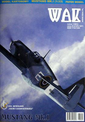 WAK-091   *   1\13   *   Mustang Mk.1 (1:33)