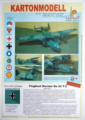043   *   Flugboot Dornier Do 24 T-2 (1:50)    *   MDK