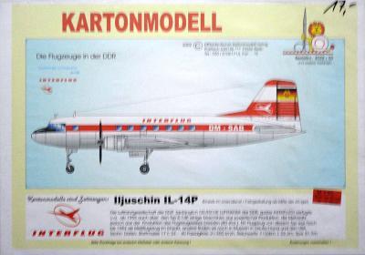 028    *   Iljuschin IL-14P(1:50)    *   MDK