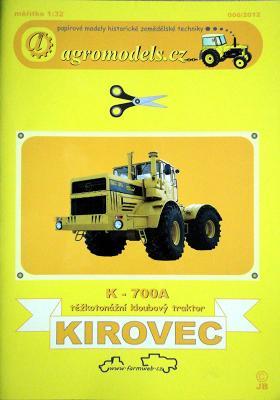 006\12   *   Kirovec K-700A (1:32)   *   AGRO