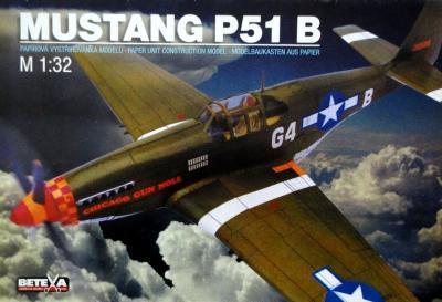 096-1  *  Mustang P51 B (1:32)    *    BETEXA