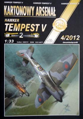 78   *    4/12   *   Hawker Tempest V (1:33)    *   HAL      +колеса