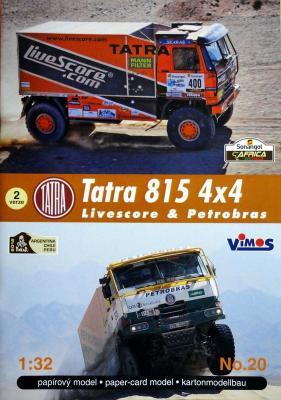 020    *   Tatra 815 4x4 Livescore & Petrobras (1:32)    *   VIMOS