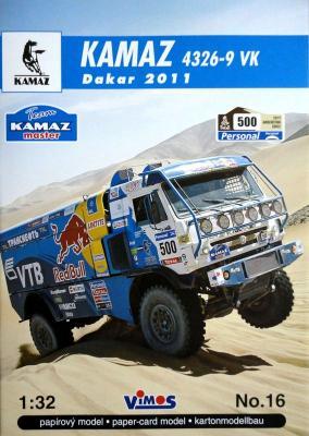 016    *   Kamaz 4326-9 VK Dakar 2011 (1:32)   *   VIMOS