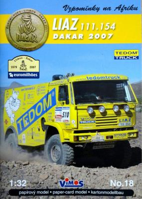 018   *   Liaz 111.154 Dakar 2007 (1:32)    *    VIMOS