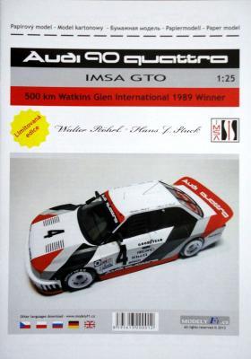 099`Audi 90 quattro  IMSA GTO (1:25)    *   DUCASE