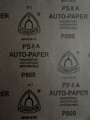наждачная бумага  Auto-paper P800   28х23