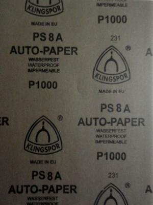 наждачная бумага  Auto-paper P1000   28х23
