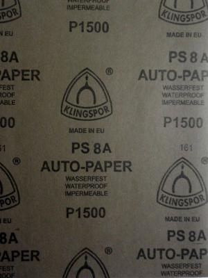 наждачная бумага  Auto-paper P1500  28х23