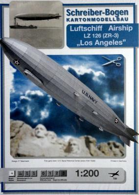 "728   *   Luftschiff Airship LZ 126 (ZR-3) ""Los Angeles"" (1:200)    *   S-B"