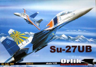 089   *  SU-27UB (1:33)   *   Orlik