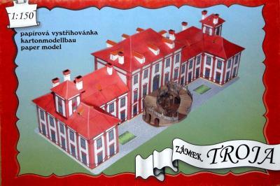 01   *  Zamek Troja (1:150)