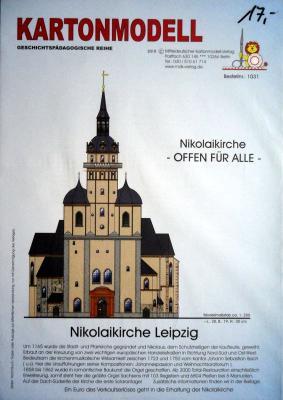002    *   Nikolaikirche Leipzig(1:250)   *   MDK