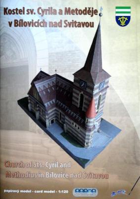 006    *    Kostel sv.Cyrila a Metodeje v Bilovicich nad Svitavou (1:120)    *    Z-ART