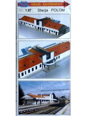 023   *   Stacja Polom (1:87)   *   SWM