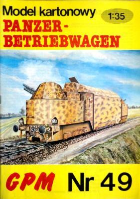 049  *  Panzer-Betriebwagen (1:35)  *  GPM-J