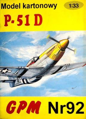 092  *  P-51D (1:33)  *  GPM-J