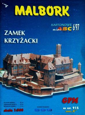 915  *  6\97  *  Malbork - Zamek Krzyzacki (1:500)   *  GPM-ARH
