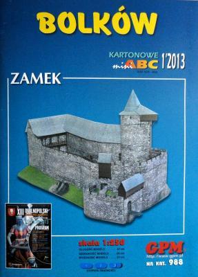 988  *  1\13  *  Bolkow zamek (1:250)  *  GPM-ARH