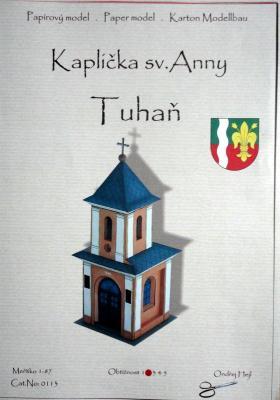 003  *  Kaplicka sv.Anny - Tyhan (1:87)  *  Ondr Hejl  *  0113