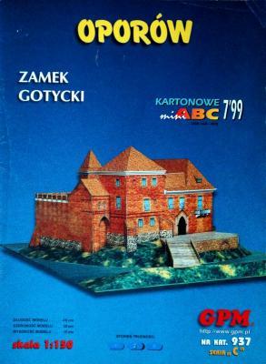 937  *  7\99   *  Oporow - Zamek Gotycki (1:150)   *  GPM-ARH